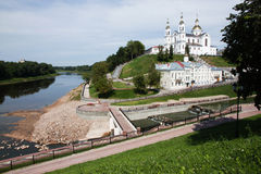 Ansicht von Vitebsk Stockbilder