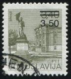 Ansicht von Vranye Lizenzfreie Stockbilder