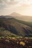 Ansicht von vulcano EL Teide Stockfotografie
