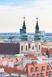 Ansicht von Wien Österreich Stockbild