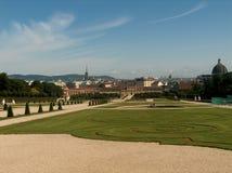 Ansicht von Wien Lizenzfreies Stockfoto