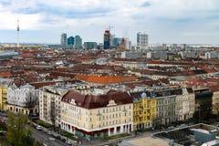 Ansicht von Wien Stockbild