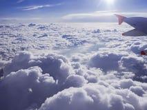 Ansicht von Wolken Lizenzfreies Stockfoto