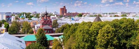 Ansicht von Yaroslavl lizenzfreies stockbild