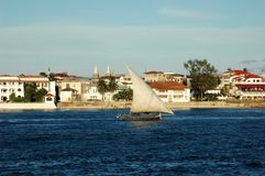 Ansicht von Zanzibar Lizenzfreies Stockbild