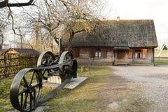 Ansicht von Zaslavl, Weißrussland. lizenzfreie stockfotografie