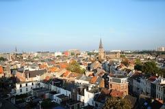 Ansicht von Zurenborg, Antwerpen Lizenzfreies Stockbild