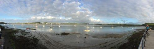 Ansicht vorbei zum Schaukeln, Cornwall stockbilder