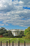 Ansicht am Weißen Haus im Washington DC Lizenzfreie Stockfotografie