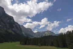 Ansicht zu Engelberg-Tal, die Schweiz Lizenzfreie Stockfotografie