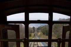 Ansicht zu Heidelberg-Stadt von funikulärem Lizenzfreies Stockbild