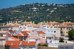 Ansicht zu Loule, Portugal lizenzfreies stockbild