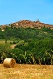 Ansicht zu Volterra lizenzfreie stockfotografie
