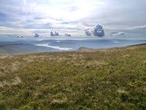 Ansicht zu Windermere vom Berg, See-Bezirk Lizenzfreie Stockfotos