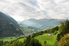Ansicht zum Berg Lizenzfreies Stockbild