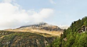 Ansicht zum Berg Stockbild