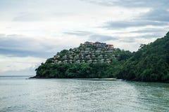 Ansicht, zum des attraktiven Platzes am Kap zu sehen Lizenzfreie Stockfotografie