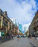 Ansicht zum Herzen von Frankfurt an Stockfoto