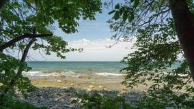 Ansicht zum Meer Stockfotos