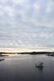 Ansicht zum Meer von Oslo Lizenzfreie Stockfotos