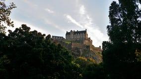 Ansicht zum Schloss Lizenzfreies Stockfoto