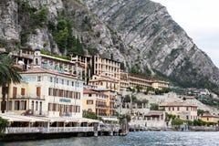 Ansicht zum See Garda lizenzfreie stockfotografie