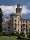 Hlubokà ¡ Schloss Lizenzfreie Stockfotos