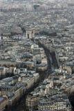 Ansicht zum Triumphbogen Stockfoto