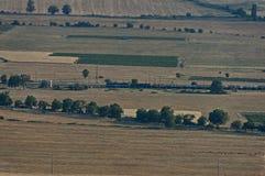 Ansicht, zum von Balkan-Tal von Balkan-Berg einzuspringen Lizenzfreies Stockfoto