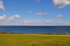 Ansicht zur Ostsee lizenzfreie stockfotografie