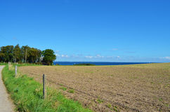 Ansicht zur Ostsee lizenzfreie stockfotos