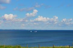 Ansicht zur Ostsee lizenzfreies stockfoto