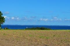 Ansicht zur Ostsee stockbild