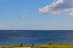 Ansicht zur Ostsee stockfotos