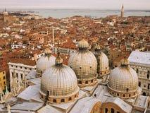 Ansicht zur Veneto-Lagune lizenzfreies stockbild