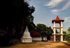 Ansicht zur Zitadelle von Yapahuwa, alte Hauptstadt von Sri Lanka Lizenzfreie Stockfotografie