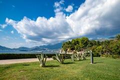 Ansichten über das adriatische Meer Lizenzfreie Stockfotos