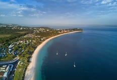 Ansichten über Massen-Bucht-Hafen Stephens Lizenzfreies Stockfoto