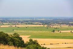 Ansichten der ländlichen Landschaften Lizenzfreies Stockbild
