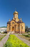 Ansichten der orthodoxen Kirche des Erzengels Michael Stockbild