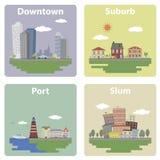 Ansichten der Stadt Lizenzfreie Stockfotos