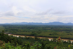 Ansichten des Berges Lizenzfreie Stockfotos