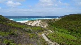 Ansichten des Walpole-Einlasses West-Australien an einem bewölkten Tag Stockfotografie