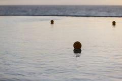 Ansichten eines Swimmingpools Lizenzfreies Stockbild