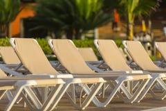 Ansichten eines Swimmingpools Lizenzfreie Stockbilder