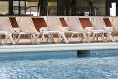 Ansichten eines Swimmingpools Stockfoto