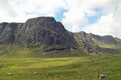 Ansichten entlang das Bealach Na-Ba Schottland Lizenzfreie Stockbilder