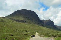 Ansichten entlang das Bealach Na-Ba Schottland stockfoto