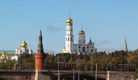 Ansichten Moskaus der Kreml Lizenzfreie Stockfotografie