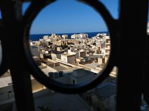Ansichten in Sliema stockfotografie